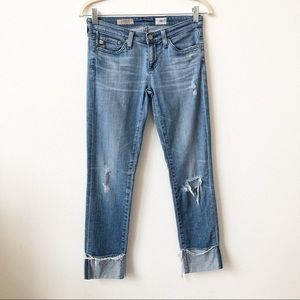 Ag Adriano Goldschmied Stevie Cuff Jeans